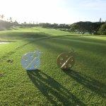 コオリナゴルフコースのトレードマーク