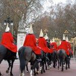 Heading up from Buckingham Palace