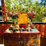 Buddhist temple altar at Cabramatta