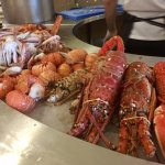 Lobster/Shelled Fish Selection