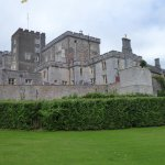 Side view of Powderham Castle