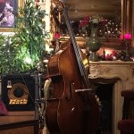 Made for the musician, a beautiful double bass. He played to so well!