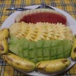 Asiette de fruits