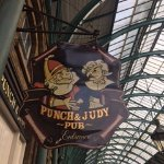 Punch and Judy signage
