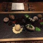 Dessert réalisé à table par le chef en personne !