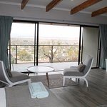 One of the new Luxury King Rooms with Mountain View.