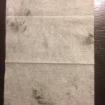 Wipe after cleaning TV remote.