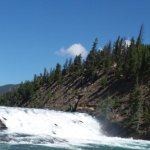 nearby Bow falls