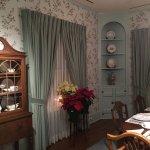 Inside Childhood Home Dinning room