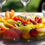 Salade de tomates du chef