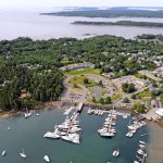 Aerial Views of Northeast Harbor