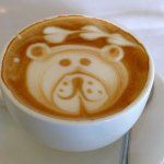 """I could hardly """"bear"""" to drink the coffee!"""