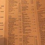 Bufala cheese, ossobucco, veggie pasta, fried olives, rice ball, zucchini flower,menu and wine