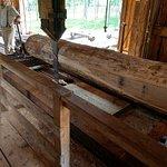 Water Powered Sawmill