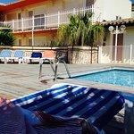 Piscine hotel Amerique Palavas les flots