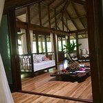 Living area of Jaguar Villa