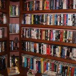 Large movie and book Library, Free phone service to US and Canada