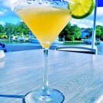 Cool Martini on Outdoor Deck