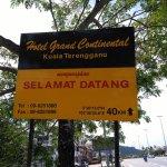 Selamat Datang Sign Board from Ajil Interchange