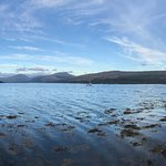 Panoramic view of Loch Fyne from Inverary near the Rudha-na-Craige