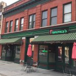 Charming old building in heart of downtown Syracuse. Great outdoor dining in the back.