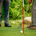 Hone your putting skills on our 6 hole mini green.
