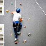 The Wall Climbing course looks simple but looks can be deceptive!