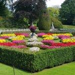Formal flower bed