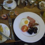 My full English breakfast, both days and beautifully cooked.