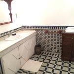 Das Bad im marokkanischen Stil.