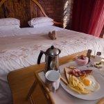 Order breakfast or dinner as room service