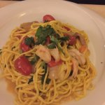 Declared the best pasta of the trip. Shrimp with guinciale