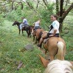 Horseback riding at Eco Venao