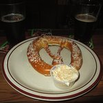 Warm Jumbo Pretzel with Beer Cheese Dipping Sauce