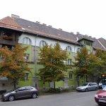 balcony and facade