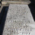 Winston Churchill's grave