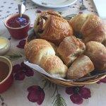 Fresh baked goods and homemade preserves