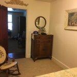 Separate bedroom in Jenny Lind suite