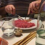 Risotto rosa con gambero di Sanremo