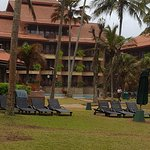 Royal Palms Beach Hotel fabulous Staff and fish massage also Temple