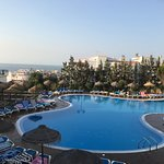 Main pool in main part of Hotel
