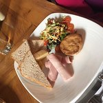 Ploughmans at the PC Hotel. Just £14.50