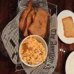 Starter:  Pimento Cheese with homemade crackers made from our famous bread