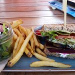 Veggie sandwich yummy!