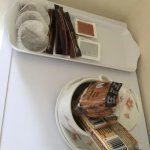 Complimentary hospitality tray