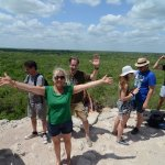 An amazing day at Coba!