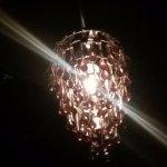 Grape light fixture