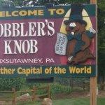 Gobbler's knob