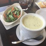 Clam Chowder with veggies