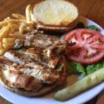 Grilled Chicken Sandwich-a healthy sandwich option!